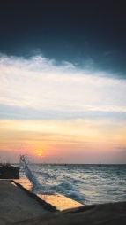 Sonnenuntergang in Nungwi