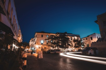 Stone Town by night