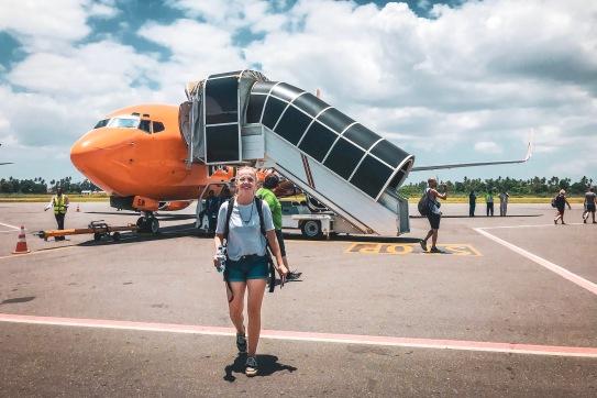 Flughafen von Sansibar