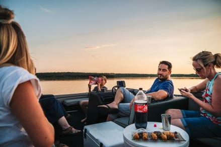 Bootstour mit FC und seiner Familie