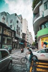Straßenleben der Hauptstadt Male´