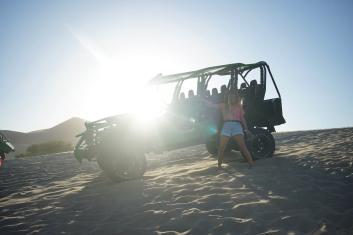 Buggy für die Sand Tour