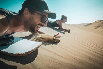 Huacachina, Sand Boarding